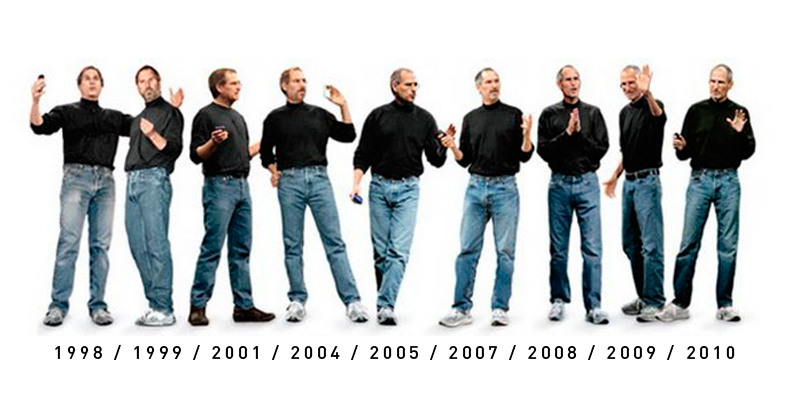 La evolución invariable del estilo Jobs