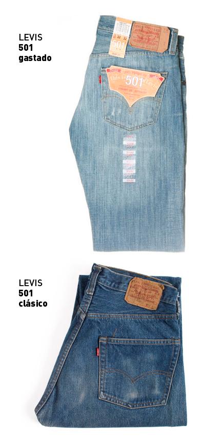 los clásicos Levis 501