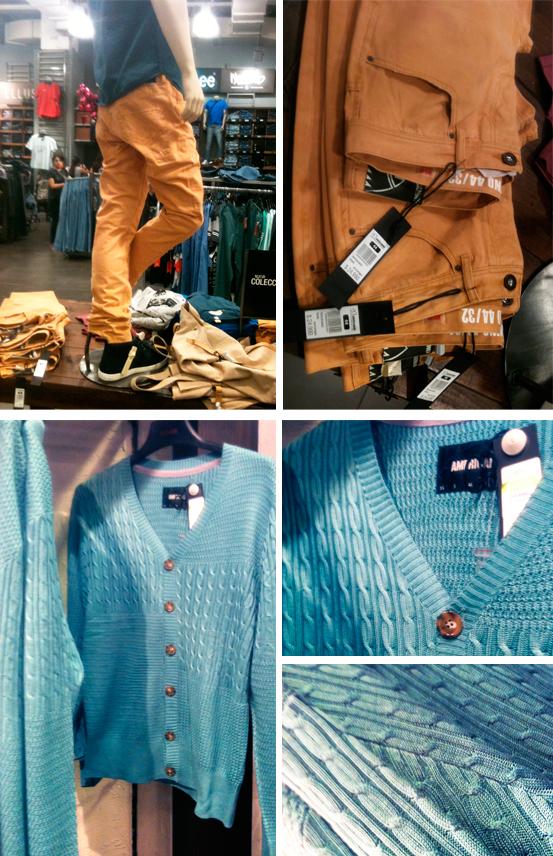 Jeans & suéter Americanino $24.990 c/u