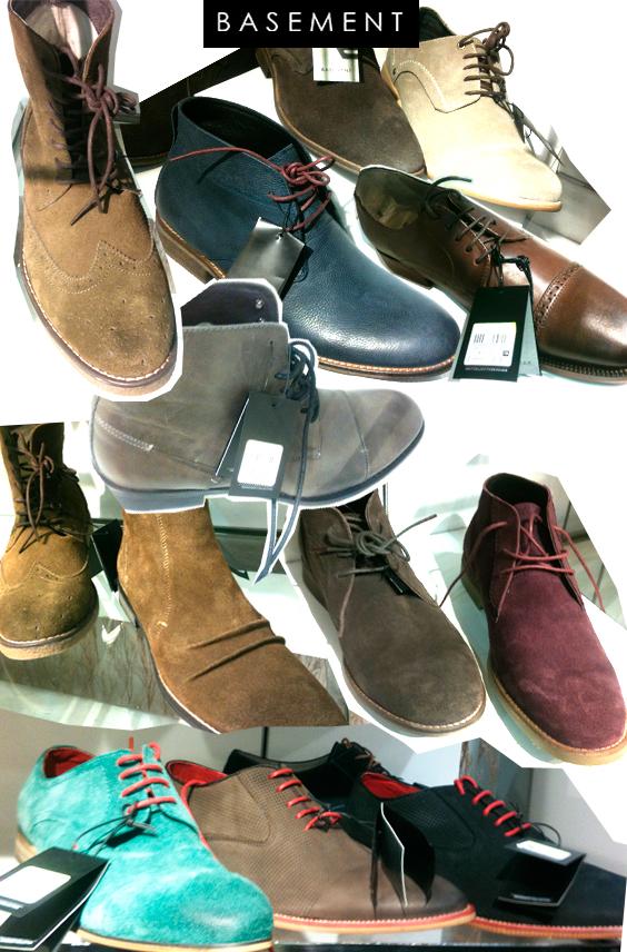 Zapatos Basement otoño/invierno