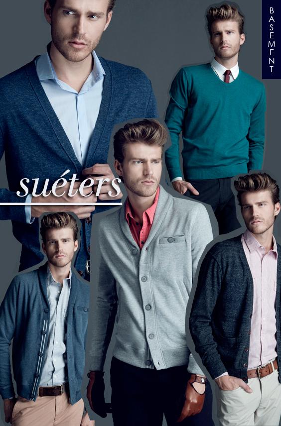 suéters Basement