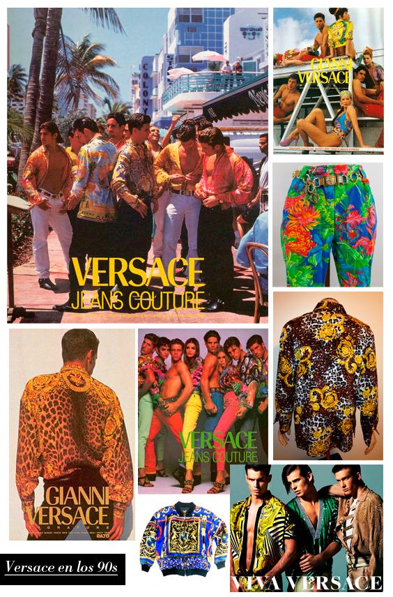 El legado de Gianni Versace en los 90