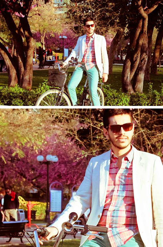 El mismo look también puede ser semi-formal al sumar la chaqueta de lino, una combinación perfecta!