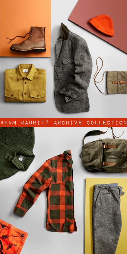Mauritz Archive Collection, edición limitada de H&M