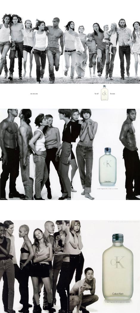Calvin Klein one en los 90